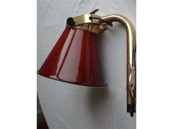 Vägglampor Båt : Gammal industrilampa för vägg montage på tradera antika