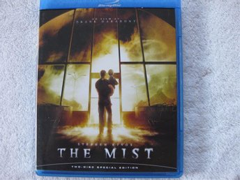 THE MIST STEPHEN KING - 2 DISC BLU-RAY!