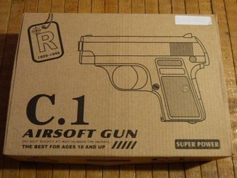 METALL C.1! AIR SOFT PISTOL!