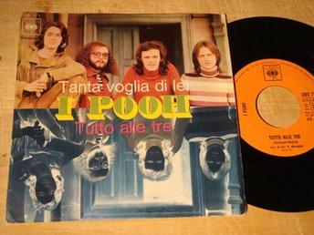 "I POOH - TANTA VOGLIA DE LEI 7"" 1971 ITALIENSK POP - Sundsvall - I POOH - TANTA VOGLIA DE LEI 7"" 1971 ITALIENSK POP - Sundsvall"