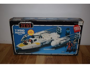 Star Wars Vintage Y-Wing med Orginal ROTJ BOX Komplett Delar SEALED!!!!
