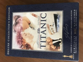 Titanic DVD Deluxe collectors item 4 DVD