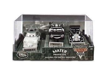 Disney Cars Toon Private Eye Mater 3-Pack