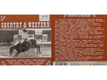 Country & Western, Div artister (10CD)