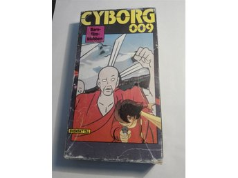 Cyborg 009 - avsnitt 27+28 - VHS - NM International nr. 3027