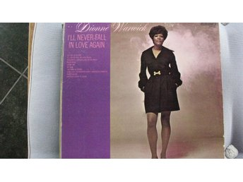 DIONNE WARWICK  - I´LL NEVER FALL IN LOVE AGAIN   SCEPTER  LP