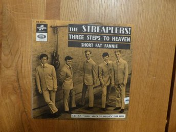 Streaplers – Three Steps To Heaven / Short Fat Fannie 1965