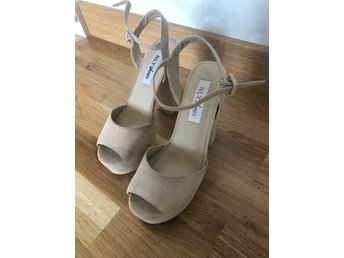 Beiga klackar NLY shoes strl. 37 (341645598) ᐈ Köp på Tradera fa4e403f3dd4f