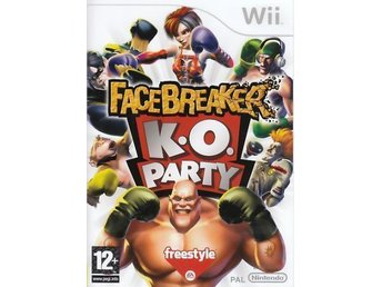 Facebreakers k.o. party till wii
