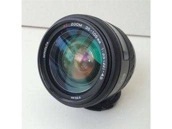 AF zoom 35-105mm 1:3,5 (22) - 4,5 5mm MINOLTA - Stockhlom - AF zoom 35-105mm 1:3,5 (22) - 4,5 5mm MINOLTA - Stockhlom