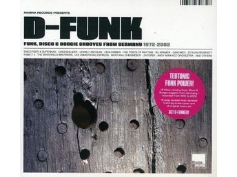 D-FUNK-Ny CD-Funk, Disco & Boogie Grooves From Germany 1972-2002