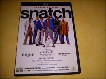 Snatch (av Guy Ritchie med Brad Pitt, Jason Statham)
