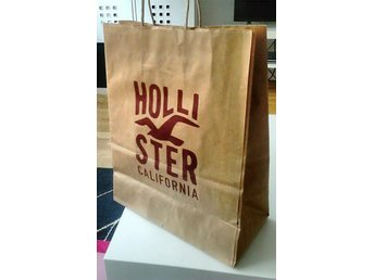 Hollister shopping bag/påse