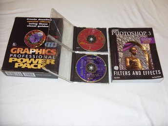Graphics Power Pack 2 st CD ROM och Adobe Photoshop 3 bok av Gary David Bouton