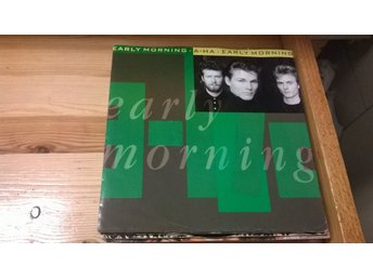 a-ha - Early Morning, EP