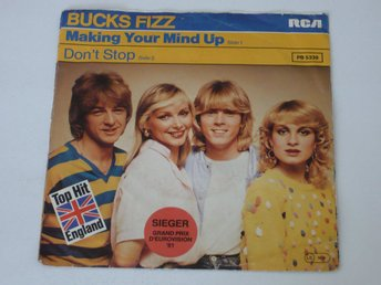 BUCKS FIZZ  MAKING YOUR MIND UP