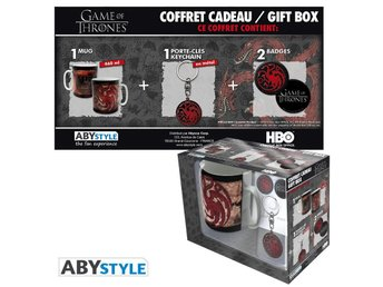 Gift Set - Mugg, nyckelring, mm - Game of Thrones - Targaryen