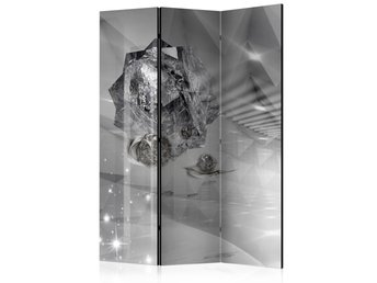 Rumsavdelare - Abstract Greyness Room Dividers 135x172