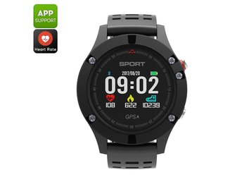 No.1 F5 Bluetooth Watch - Pedometer, Sleep Monitor, Heart Rate, Barometer, Therm