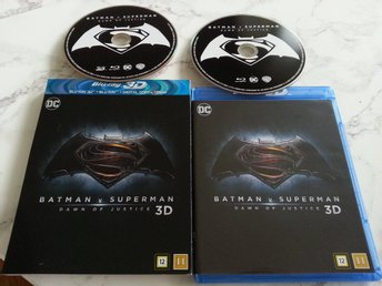 Batman v Superman - Dawn of Justice (Blu-ray 3D + Blu-ray)