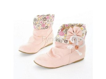 Dam Boots Lace Floral Boots Vintage Ankle Boots Pink 41