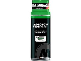Molotow, UrbanFineArt 400ml - 323 Permanent Green dark