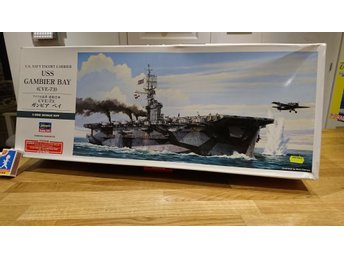 U.S. Navy Escort Carrier, USS GAMBIER BAY (CVE-73) 1:350