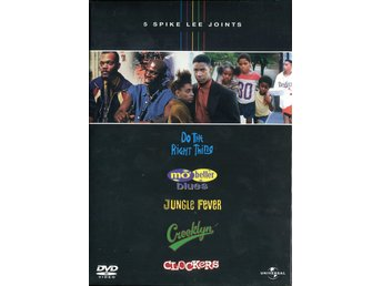 5 Spike Lee Joints 2006 5-Disc DVD NY Mo Better Blues, Jungle Fever, Clockers