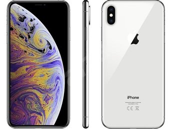Iphone XS MAX 512 GB Silver Ny Olåst