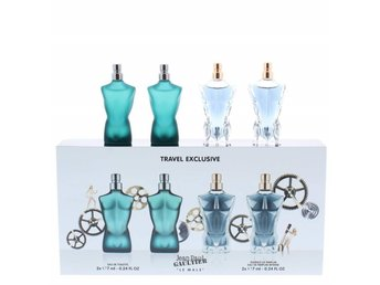 Giftset Jean Paul Gaultier Le Male mini set 2 x Edt + 2 x Edp