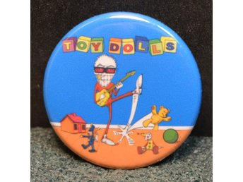 The Toy Dolls - badge/pin/knapp - 25 mm