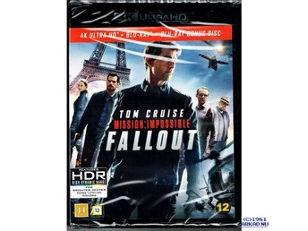 MISSION IMPOSSIBLE FALLOUT 4K ULTRA HD + BLU-RAY - NY INPLASTAD
