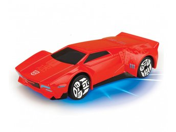 Simba Transformers Bilar Robots In Disguise Light Up Lyser - Sideswipe Röd
