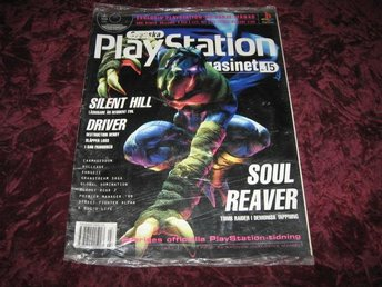 PLAYSTATION MAG NR 3 1999 MED DEMO CD (SOUL REAVER) NY INPLASTAD