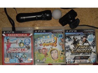 PlayStation 3/PS3: PlayStation Move Start Party, Time Crisis, Sports Champions - Stockholm - PlayStation 3/PS3: PlayStation Move Start Party, Time Crisis, Sports Champions - Stockholm