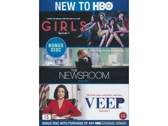 1KR GIRLS NEWSROOM VEEP HBO JEFF DANIELS JULIA LOUIS-DREYFUS