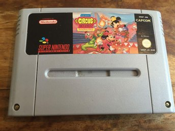 MICKEY MOUSE CIRCUS MYSTERY - SUPER NINTENDO