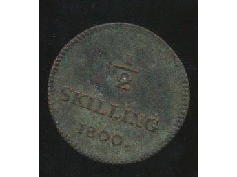 1800 1/2 skilling Gustav IV Adolf se bild - Västra Frölunda - 1800 1/2 skilling Gustav IV Adolf se bild - Västra Frölunda