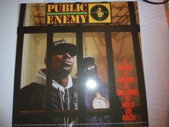 Public enemy - It takes a nation of millions to hold us back  -LP