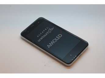 Silver Alcatel One touch Star - Fabriksny telefon