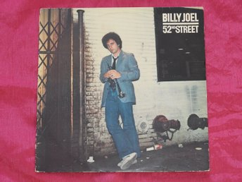 BILLY JOEL - 52nd STREET - 9 LÅTARS LP - 1978