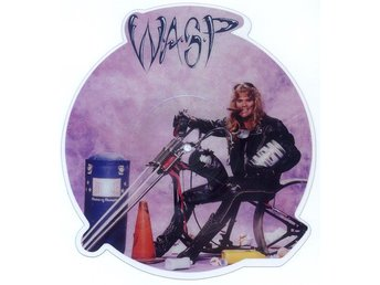 "W.A.S.P. 'Mean Man' 1989 UK 12"" picture-disc single"