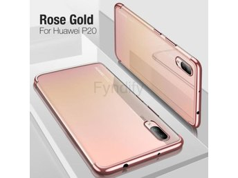 Mobilskal Cafele Plating TPU Case for Pink P20 Pro