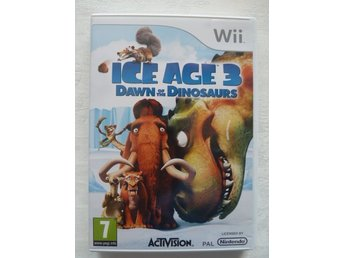 Wii spel Ice Age 3 Dawn of the dinosaurs