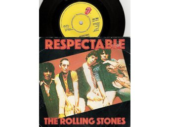 The Rolling Stones – Respectable/When the Whip Comes Down – Vinyl 45