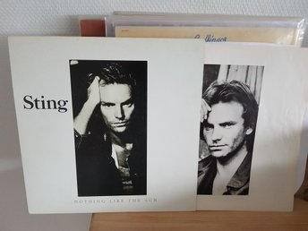 STING - Nothing like the sun   2LP