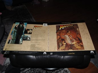 Raiders of the lost ark - Widescreen Edition - 1st Laserdisc