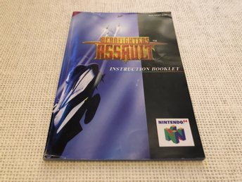 Aerofighters Assault - N64 manual