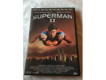 DVD-film: SUPERMAN 2 – Christopher Reeve & Gene Hackman.