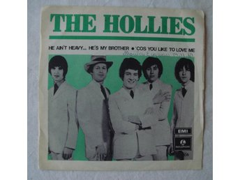 "HOLLIES - He Ain't Heavy...He's My Brother, Swe-1969 45"" PS!"